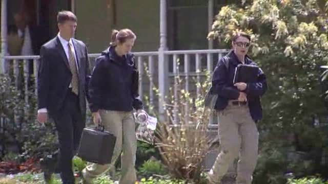 News video: FBI Visits Home of Wife of Dead Bombing Suspect