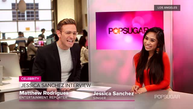News video: Video: Jessica Sanchez Dishes on Her New Role on Glee, Talks Idol, and Sings For Us!